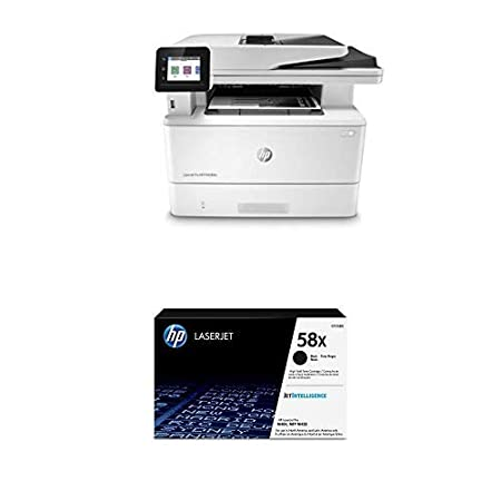 HP Laserjet Pro Multifunction M428fdn Laser Printer – Ethernet only (W1A29A) with High Yield Black Toner Cartridge