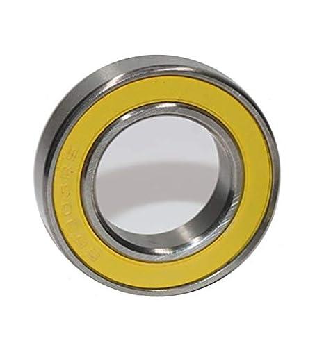 6801-2RS HYBRID CERAMIC Si3N4 Ball Bearings Black 6801RS 12x21x5 mm QTY 2