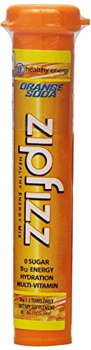 Zipfizz Healthy - Zipfizz Healthy Energy Drink Mix, Orange Soda, 30-count