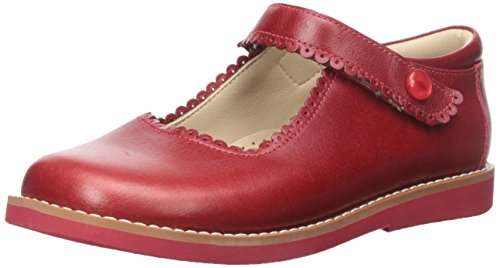 Elephantito Girls' K Mary Jane Flat, Chili Red, 4 M US Toddler for $<!--$59.50-->