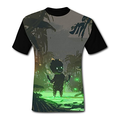 Crew Neck New 2018 Style T-Shirt 3D Original With Spirit For Men -