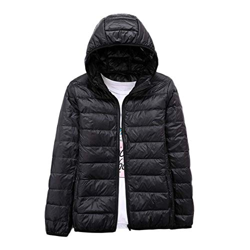 Parka Padded Jackets Coat Winter Ladies LaoZanA Outwear Hooded Black Puffer Jacket PqxwXWt70