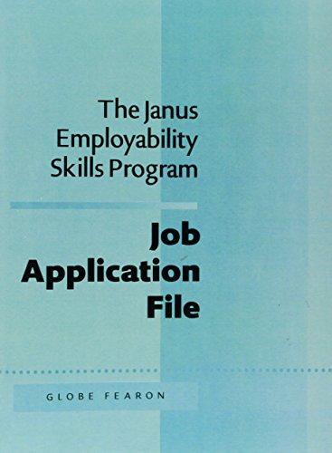 JANUS EMPLOY:JOB APPLI. FILE 5TH ED 95C (The Janus Employability Skills Program) by Brand: FEARON