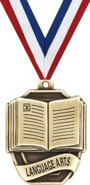 Language Arts Medals - 2