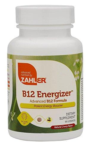 Zahler B12 Energizer, Potent Energy Booster, Vitamin B12 Methylcobalamin, Certified Kosher, 1000 MCG (90 Lozenges)