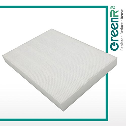 GreenR3 1-PACK HEPA Air Filters Air Purifiers for SHARP FZ-A60HFU fits SHARP FP-A60UW Model Series Replacement Parts Tool Accessories Part Number PN and more