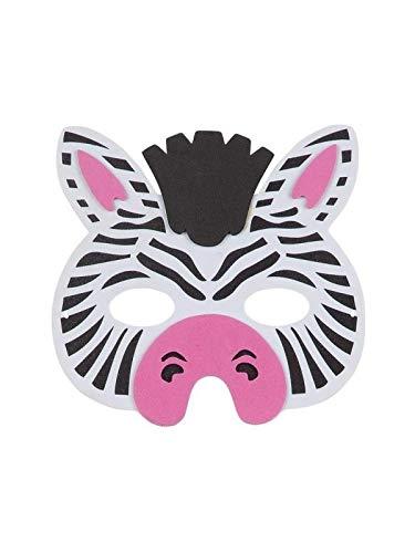 6c0c43f8544 DISBACANAL Máscara Cebra eva  Amazon.es  Juguetes y juegos