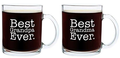 Christmas Grandma Grandpa Fathers Coffee