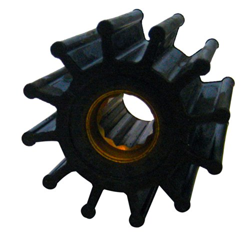 Jabsco Type (Jabsco 1210-0001-P Replacement Impeller (Neoprene, K Silhouette, 1.25