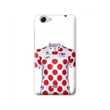 Case Carcasa Wiko Pulp 4G Cyclisme - Maillot Pois B: Amazon ...
