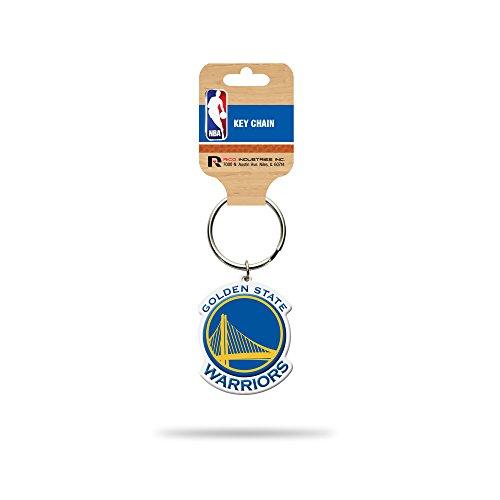 (Rico Industries NBA Golden State Warriors Flexible Team Logo Keychain )
