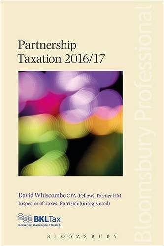 Book Partnership Taxation 2016/17