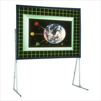 - Ultimate Folding Cineflex Portable Projection Screen Viewing Area: 6' H x 8' W