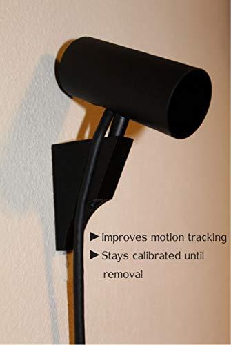 Oculus Rift CV1 Compatible Sensor Wall Mounts (Black, 4 Pack)