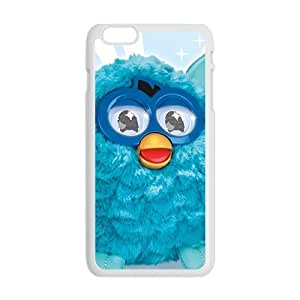 Blue lovely animal Cell Phone Case for Iphone 6 Plus