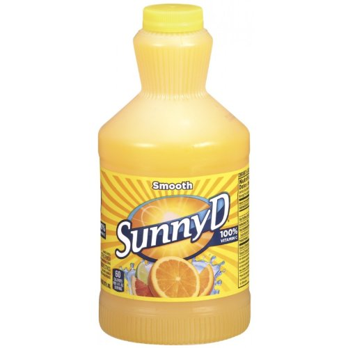 SUNNY D SMOOTH ORIGINAL ORANGE CITRUS PUNCH DRINK 64 OZ