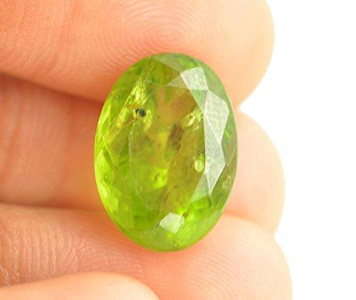 Getgemstones Peridot stone Certified Natural Very Rare Natural Shining Stone 8.8 Carat By