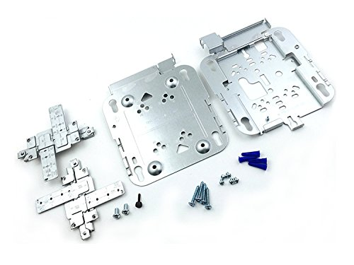 Kit Cisco Mount Wall (RoutersWholesale - AIR-AP1140MNTGKIT - 2Y91849 - 1140 Series Ceiling/Wall Mount Bracket Kit for Cisco)