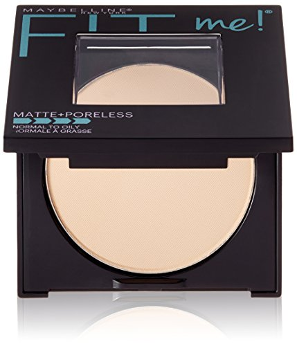 Maybelline New York Fit Me Matte Plus Poreless Powder, 110 Porcelain, 0.29 Ounce - Fit Face