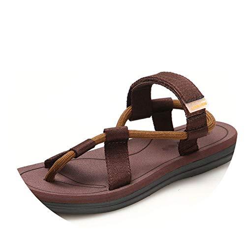 Men Sandals Summer Beach Shoes Roma Leisure Breathable Sandals Male Shoes Adult Flip Flops Shoes,7 -