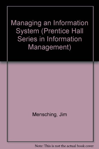 Managing an Information System