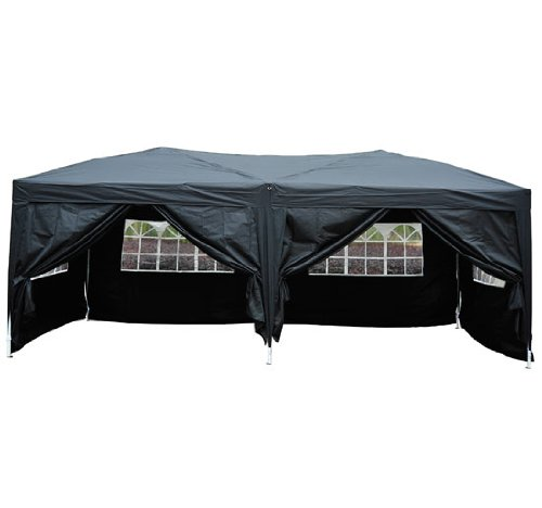 Outsunny 6m X 3m Garden Heavy Duty Pop Up Gazebo Marquee Party Tent Wedding Water Resistant