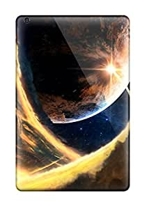 Ideal CaseyKBrown Case Cover For Ipad Mini/mini 2(planet's Conflict), Protective Stylish Case