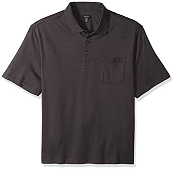 van heusen men 39 s big and tall jacquard short sleeve polo