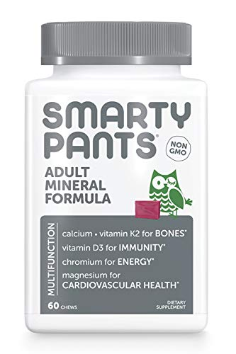 🥇 SmartyPants Adult Mineral Daily Gummy Multivitamin: Vitamin C