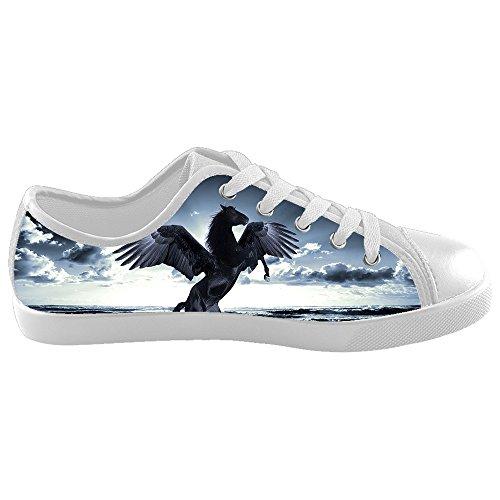 Dalliy W¨¹tend Pferd Tier Kids Canvas shoes Schuhe Footwear Sneakers shoes Schuhe D