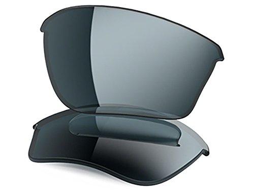 Oakley Half Jacket 2.0 XL Replacement Lens Grey, One - Sunglasses Oakley Gray