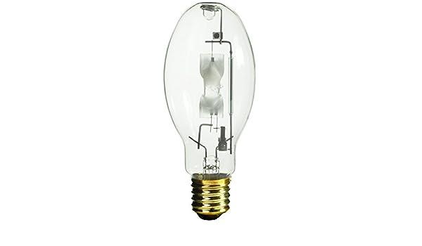 Sylvania M400//U//ED28 400w E39 Mogul 4000k M59//E Metalarc Metal Halide lamp