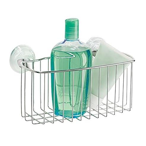mdesign duschkorb zum hngen aus metall die ideale duschablage fr shampoo schwmme rasierer - Duschzubehor Zum Hangen