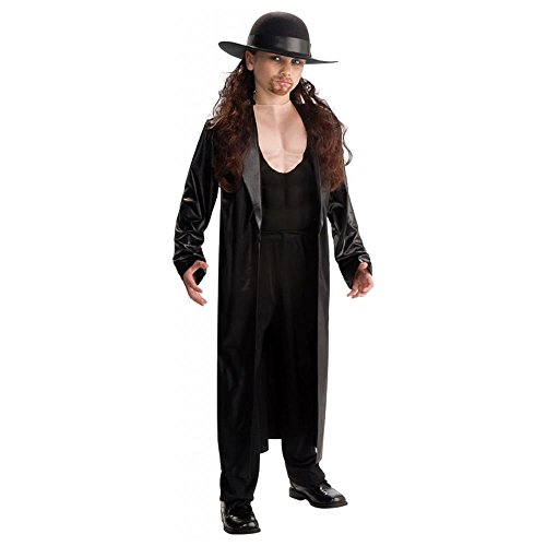 World Wrestling Entertainment Deluxe Child's Muscle Chest Costume, Undertaker Costume,Small (Size 4 to 6) by Rubie's