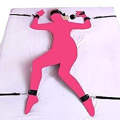 Fetish Bed Restraint Kit for Sex,Utimi B...