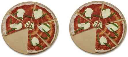 Old Stone Oven Round Pizza Stone (2-(Pack))