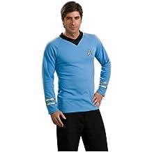 Men's Deluxe Star Trek Classic Blue Shirt