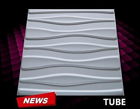 piastrelle in polistirene per pannelli da soffitto e da parete con effetto 3d confezione