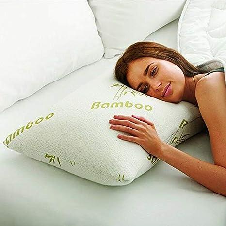 Novabel Almohada Cervical para Dormir Bien de 60x50cm- Cojín ...