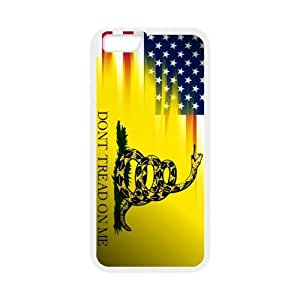 """Competitive Quality Don't Tread On Me iPhone 6 Back Case, 4.7"""" TPU(Laser Technology) Material, Protect Your iPhone"""