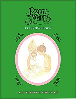Precious Moments Coloring Book: All Through the Year: Sam Butcher ...