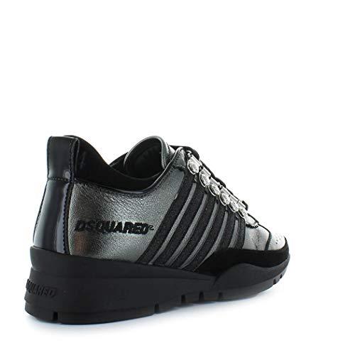 Autunno 2019 Donne Scintillio Scarpe Delle Dsquared2 Laminato Sneaker 251 Inverno xz0fTw