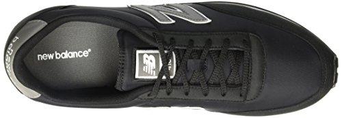 New Balance U410CA D, Zapatillas Unisex Negro (Negro)