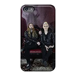Scratch Protection Hard Phone Cover For Iphone 6 (sIi13301kElz) Support Personal Customs Vivid Coal Chamber Band Pictures