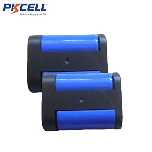 2CR5 DL245 EL2CR5 KL2CR5 5032LC 6V 1400MAH Photo Lithium Primary Battery 2 Pack by PK Cell (Image #2)