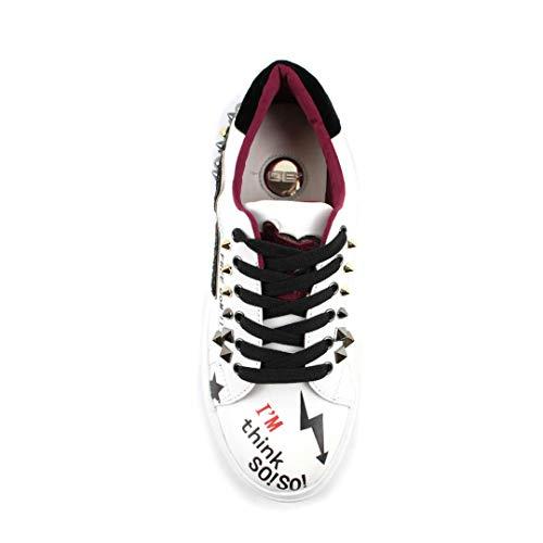 Con Milano Sneakers Accessori Donna Autunno 06 Bianco inverno Da aSffq