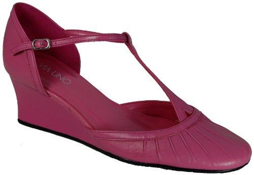 Via T 7 Reino cuña bar de Unido Rosa mujer para Zapato Uno FOCqpfwF