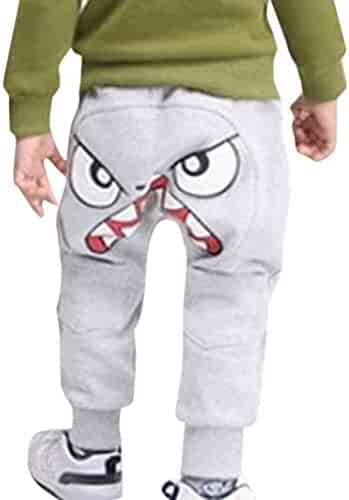 dc75f4f3d21c Baby Toddler Boys Girls Autumn Casual Pants for 1-5 Years Old Children  Cartoon Bird