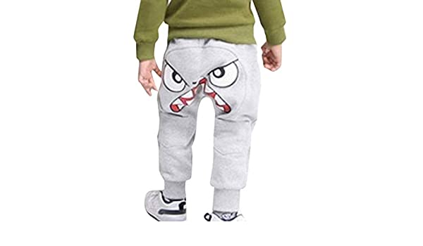 Kids Baby Children Boys Girls Cartoon Bird Tongue Harem Pants Trousers Pants