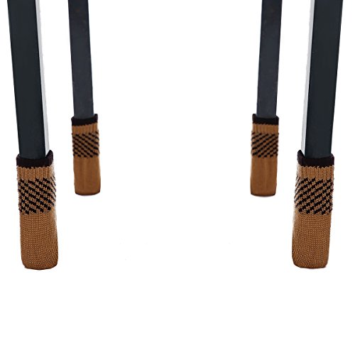 Cuccu 20 Pcs Chair Leg Socks Furniture Sliders That Protect Hardwood Floors New